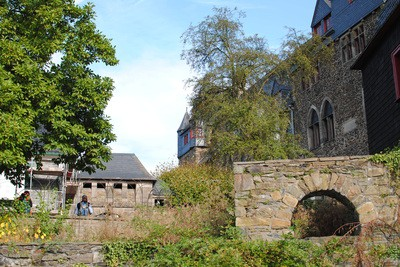 When your toddler wants to visit a castle, why not visit one named Castle Castle. There is no way you can get it wrong; Schloss burg was fun for everyone