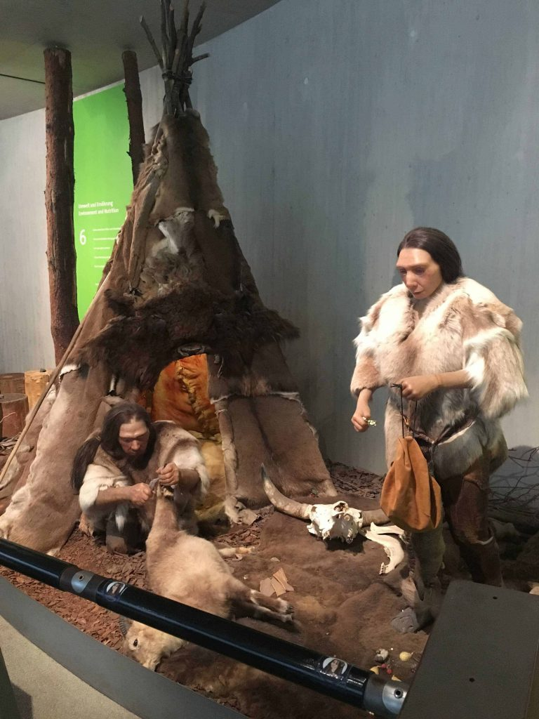 Neanderthal Museum in Mettman, Germany. Big adventure sometimes comes in small packages. Including Special Duckomenta exhibit.