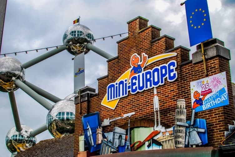 Brussels with kids   Mini Europe   Brupark Brussels   Belgium Miniature Park