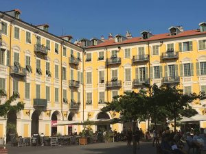 Beautiful old town, unforgettable panoramic view from the castle and great stories to tell from Nice, France. Cote d'azur