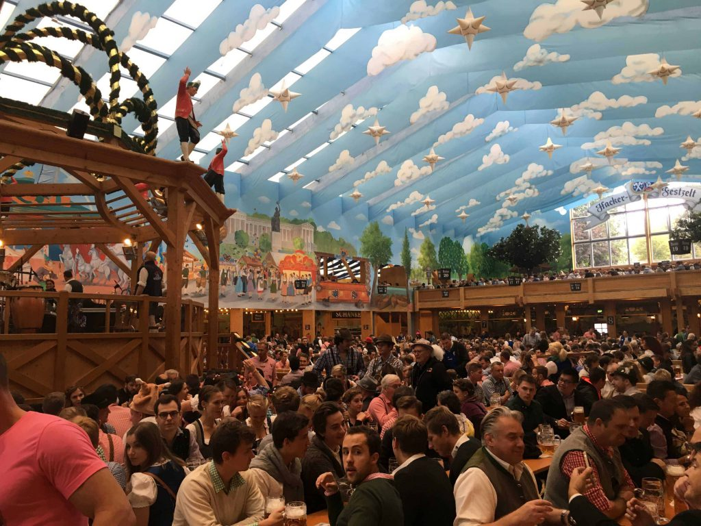 Experiencing Oktoberfest with kids doesn't have to be a big deal, or a bad thing. There was lots for them to do, just needs research.