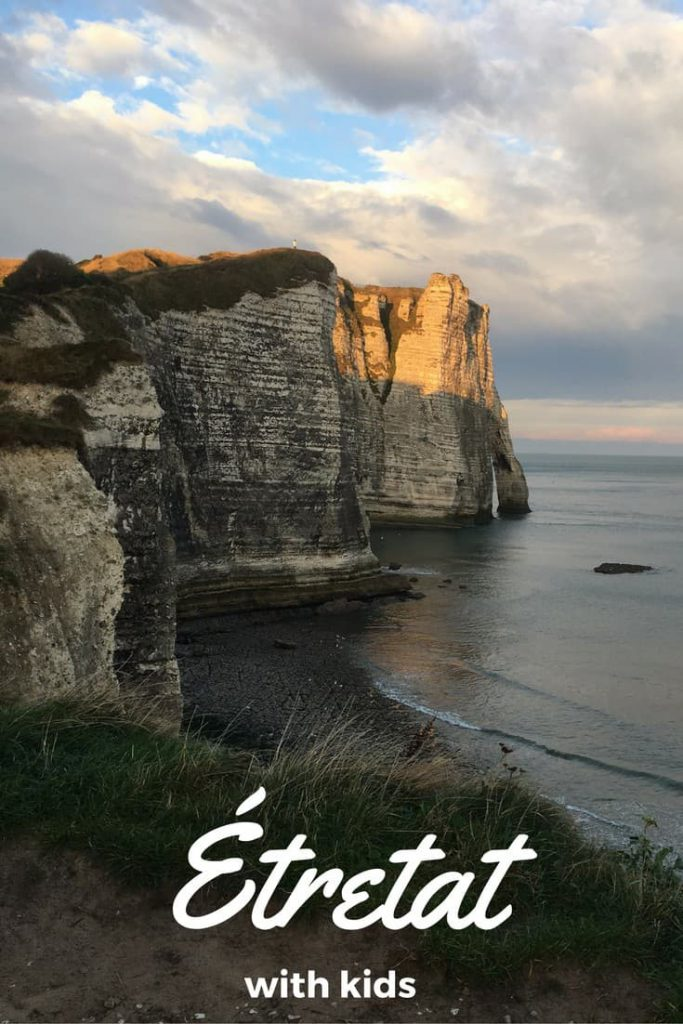 Must visit in Normandy, France: the cliffs of Etretat #normandy #france #francetravel #etretat #etretatcliffs