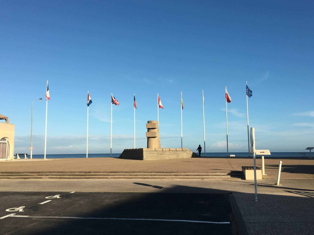 Juno Beach - Normandy road trip