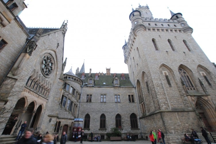 Journey to Marienburg Castle Lower Saxony, Germany