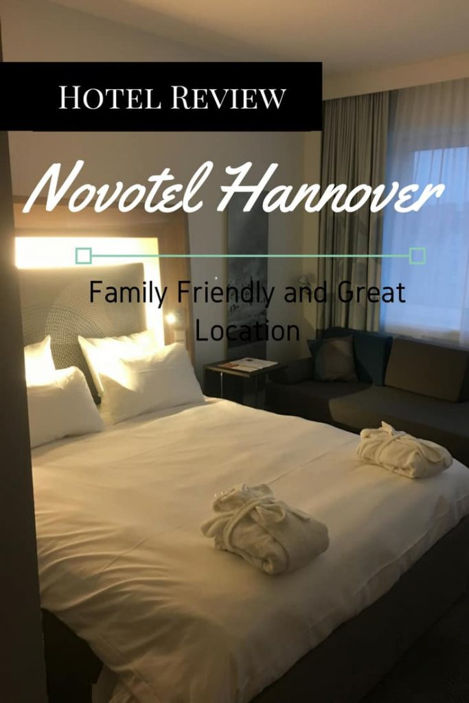 On our recent trip to Hannover, we had the privilege of spending the night at the Novotel Hotel. As a chain, I am rather fond of this brand.