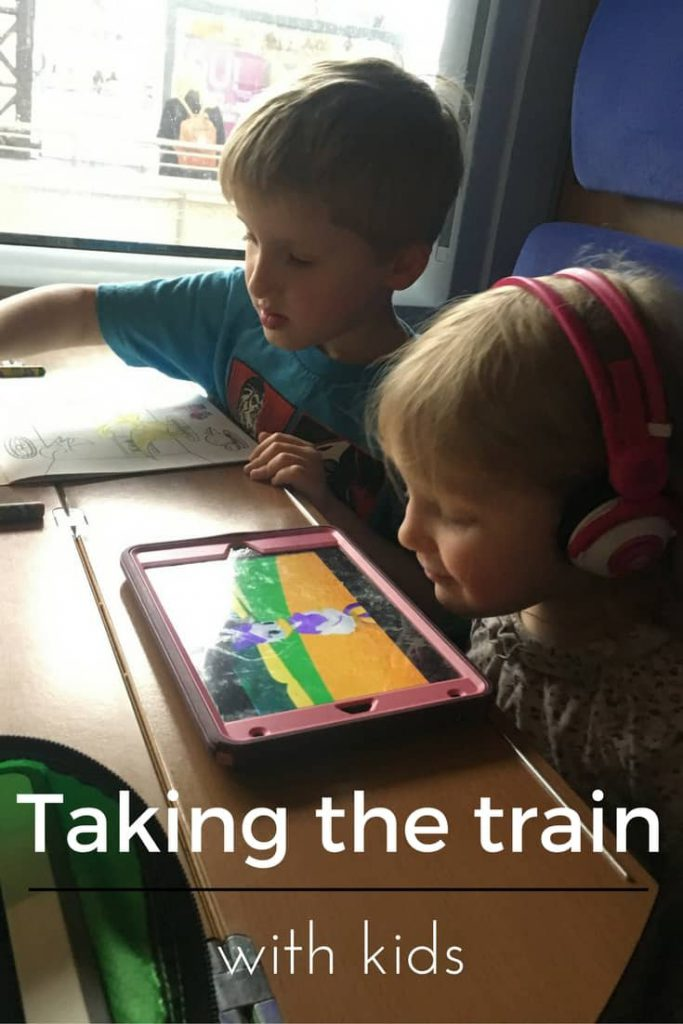 Taking kids on the train doesn't need to be awful. Prepared for train travel with kids? Do the math, booking in advance, are the keys.