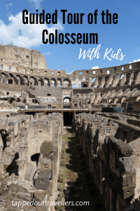 A private guided tour of the Colosseum can come with a price tag, but when traveling Rome with kids some things just need to be done