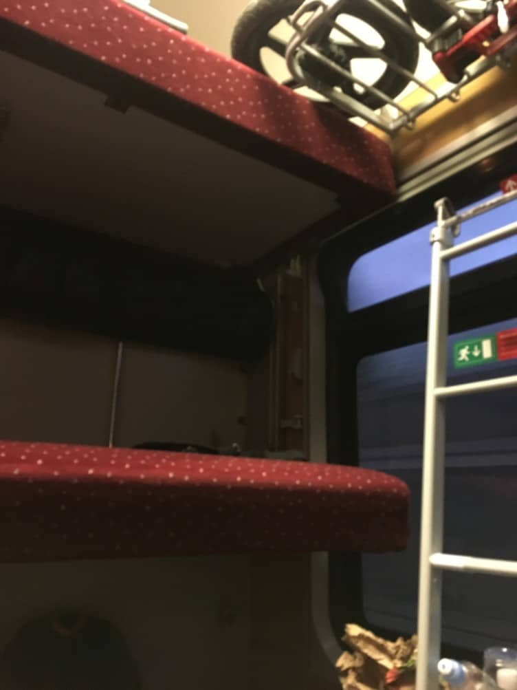 We took the night train to Rome during out latest adventure and it was something that we had never thought of doing before.