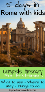 Rome with kids | Top things to do with kids in Rome | Rome for families | Family travel | Travel with kids