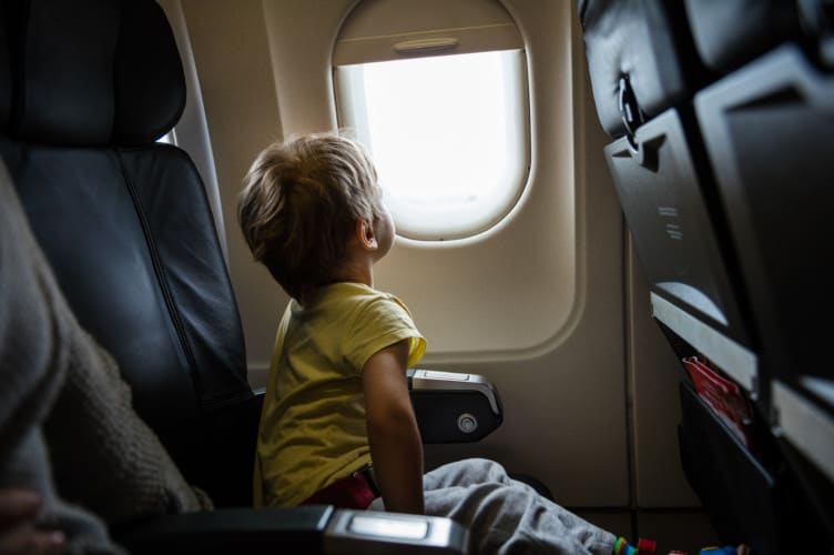 The secret to dealing with jet lag in kids; Get some sun, slow down, sleep when they sleep, establish a schedule and lots of patience | Travel Tips and Tricks | travel tips for international travel | jet lag tips | air plane travel tips | Family Travel | Travel with Kids