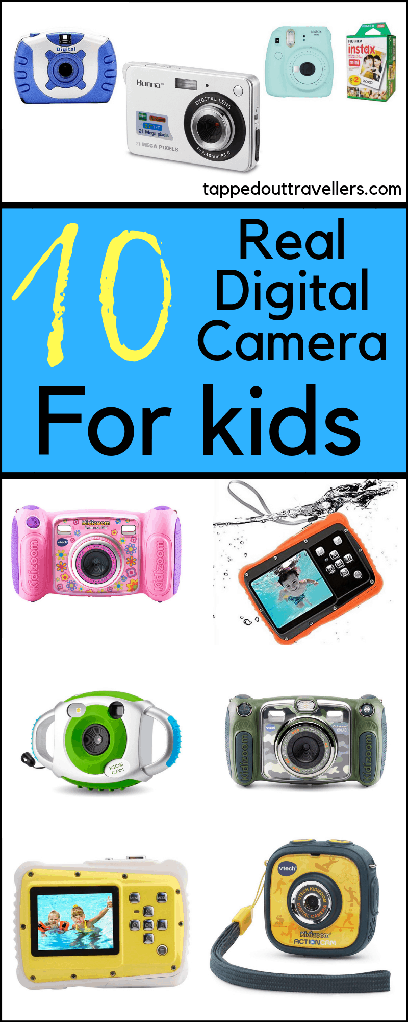 Digital Cameras For Kids Interested in Photography and Cameras