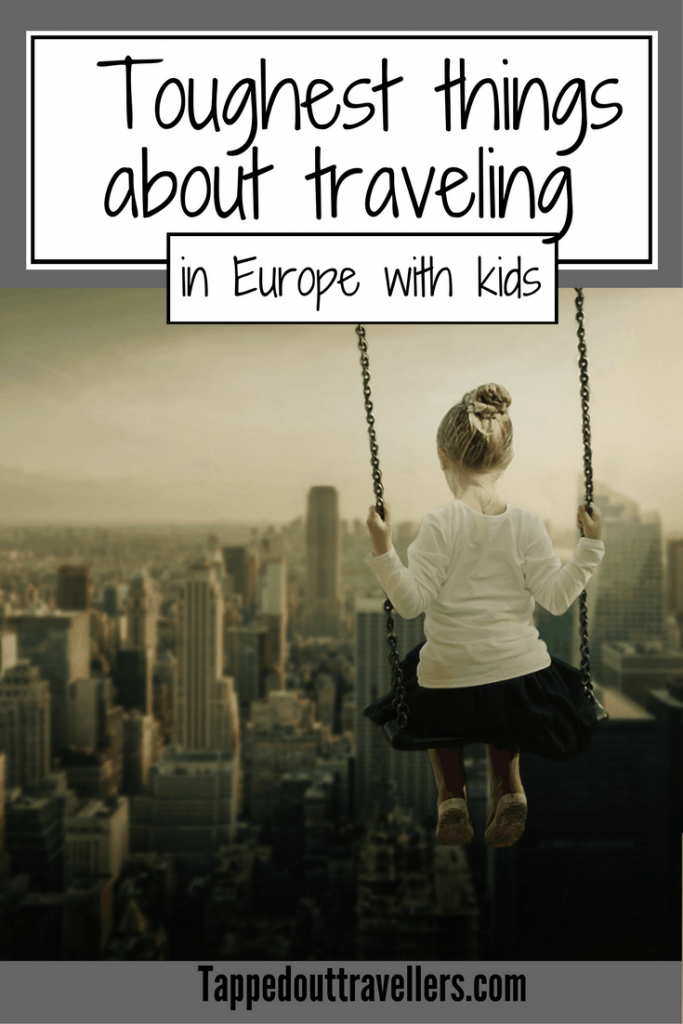 Traveling in Europe with kids may seem like a dream come true, but are there any setbacks? While Europe isn't exactly secluded, it is a very old continent. Most of the infrastructure has been around for centuries, and have not caught up with the demand of high tourism (or tourism in general). There are things to considering when attempting to travel in Europe with kids. #travelingineuropewithkids #familytravel #europewithkids