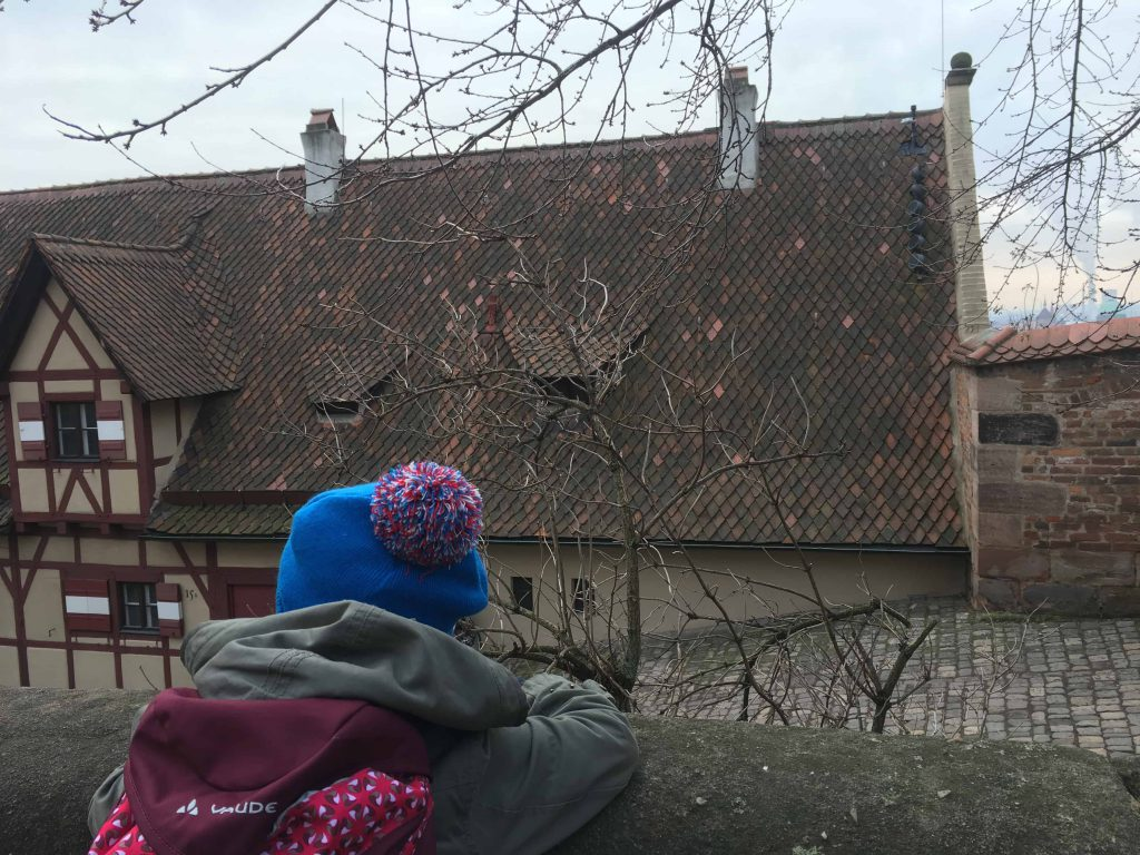 Exploring Nuremberg during Christmas vacation, with kids