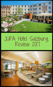 JUFA Hotel Salzburg Review. Finding the best hotel in Salzburg Austria to spend the last few days of vacation before Christmas morning doesn't have to be expensive. This cute little hotel is great for families and solo travelers looking for a deal.