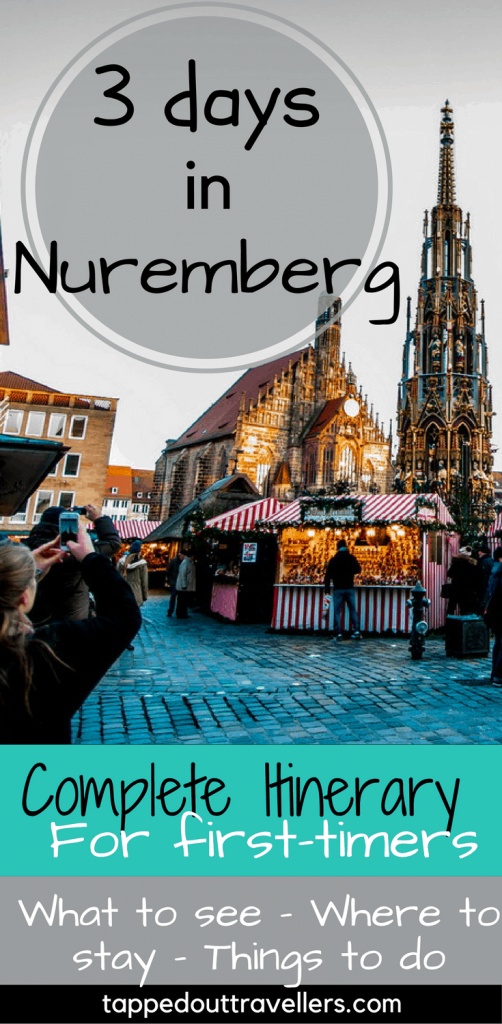 What you need to see in Nuremberg, Germany, including the beautiful, historic old town, castle, and the incredible Christmas market! .#visitGermany#Nuremberg#travelblog#travelphotography#Europetravel