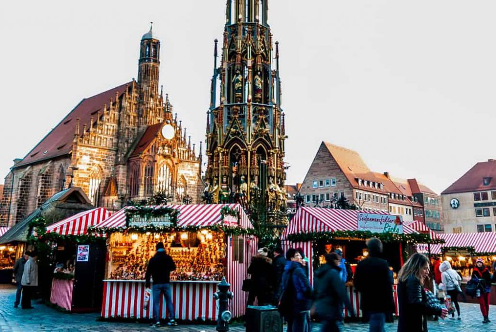 What you need to see in Nuremberg, Germany, including the beautiful, historic old town, castle, and the incredible Christmas market! . #visitGermany#Nuremberg #travelblog#travelphotography #Europetravel