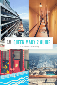 Crossing the Queen Mary 2 complete guide. Including life on board, traveling with kids and how to book your reservation.