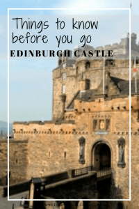 Guide to visiting Edinburgh castle, including skip the line, touring plan and what to do after you have finished. Scotland.
