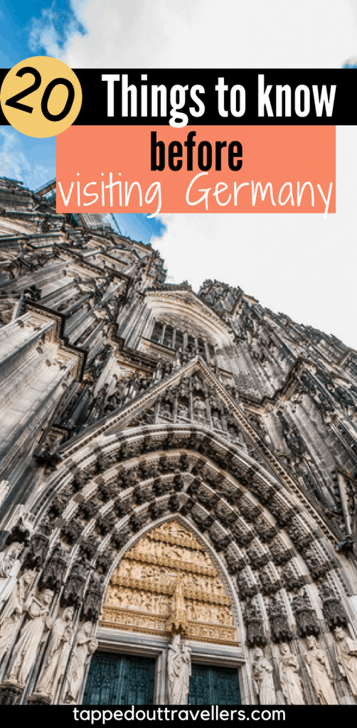 20 things to know before visiting Germany - from a local expat. Find all the nitty gritty things about German life that the travel guides don't tell you about - like how they like to stare, or their obsession with fizzy drinks. #germany #expatadvice #visitinggermany #europeans #europe #howtotravelgermany #germans