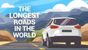 The longest roads in the world. #roadtrip #familytravel #panamericanhighway #transcanadahighway #usroute20 #australia #canada #russia #southamerica