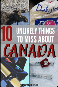 There are a handful of quirks, foods, experiences, that just can't be replicated across the pond. As an expat, these are the top things that I miss about Canada.