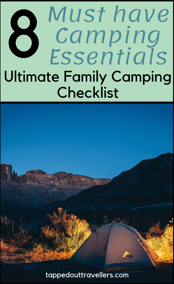 Camping is one of those activities that transcend age that's why a lot of families go on camping trips as a way to bond and get back to nature.