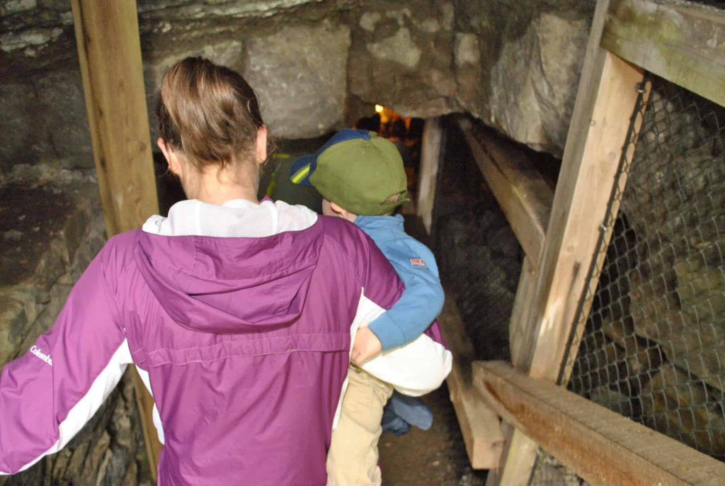 Travel Canada | Bonnechere Caves are a show cave in the Ottawa Valley, Ontario, Canada. The caves are easily visited with kids. At less than 2hrs from Ottawa, it is makes for a great day trip when visiting Canada's capital.