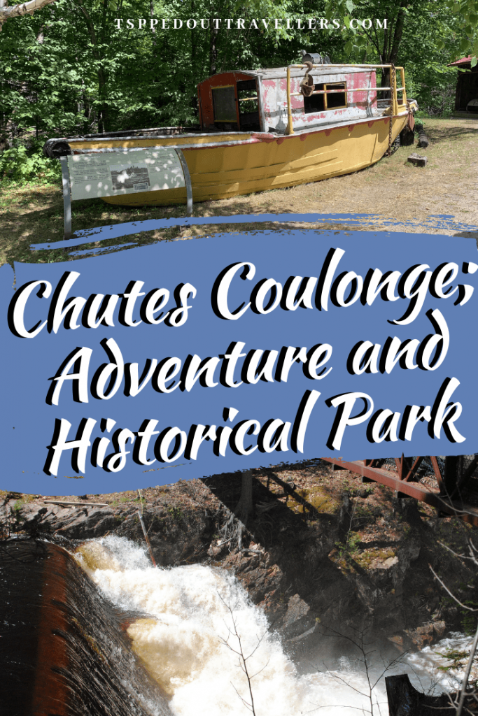 The history of the Coulonge Falls is closely associated with the great era of squared timber and log drives. #ottawa #canada #travelwithkids