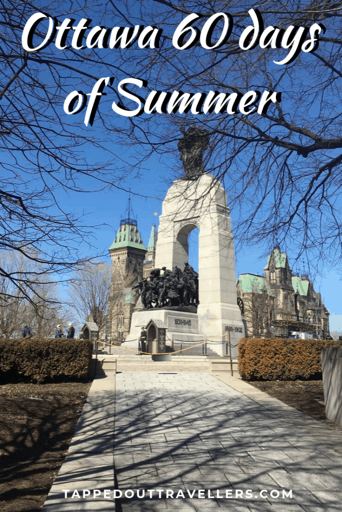 This summer we did something I never thought I would be capable of doing; we stayed home during the entire summer holiday. Exploring Canada is a lot more expensive than exploring Europe and we wanted to save up, so I tasked myself with the job of creating Ottawa 60 days of Summer vacation.