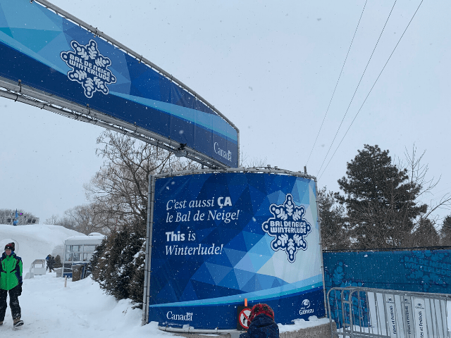 Winterlude in Ottawa is the ultimate Canadian winterfest. Guide to how to explore and enjoy Winterlude, including best foods to eat and festival activities. #Canada #winter #snowplay