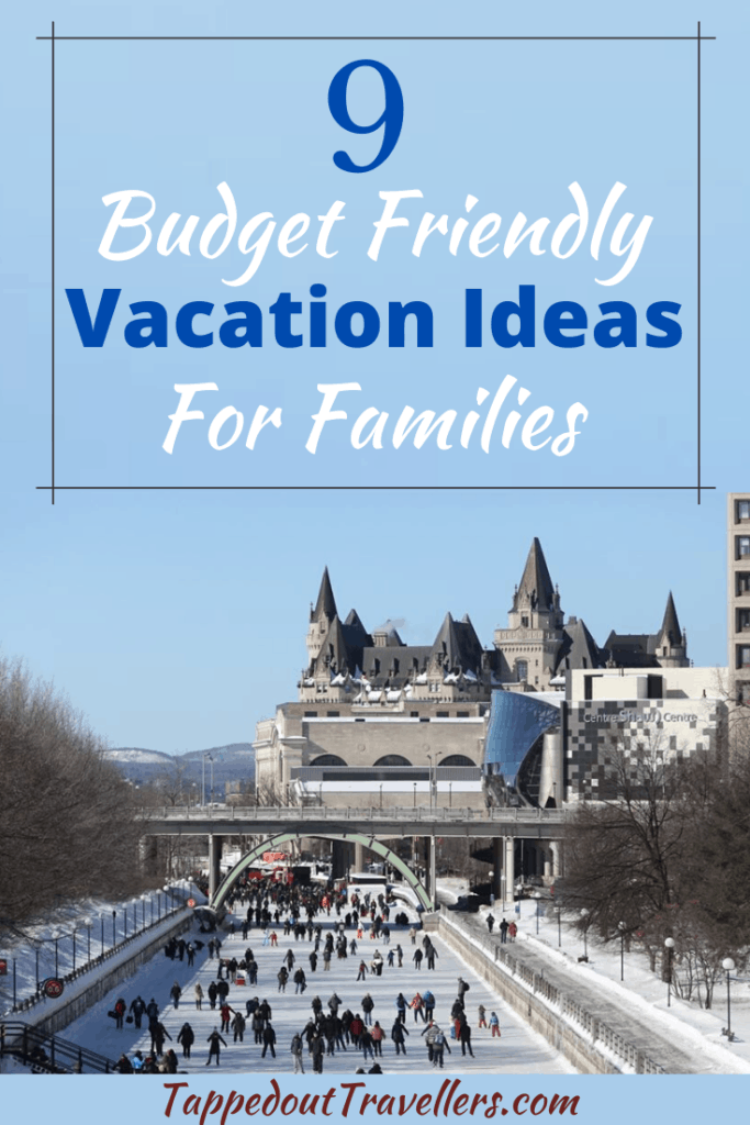 Are you planning your next family vacation? Use these 9 budget friendly vacation ideas for families as a place to start your planning. #budgettravel #summervacation #roadtrip