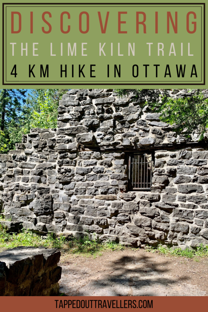 The Lime Kiln Trail- A 4 Km Hike in Ottawa