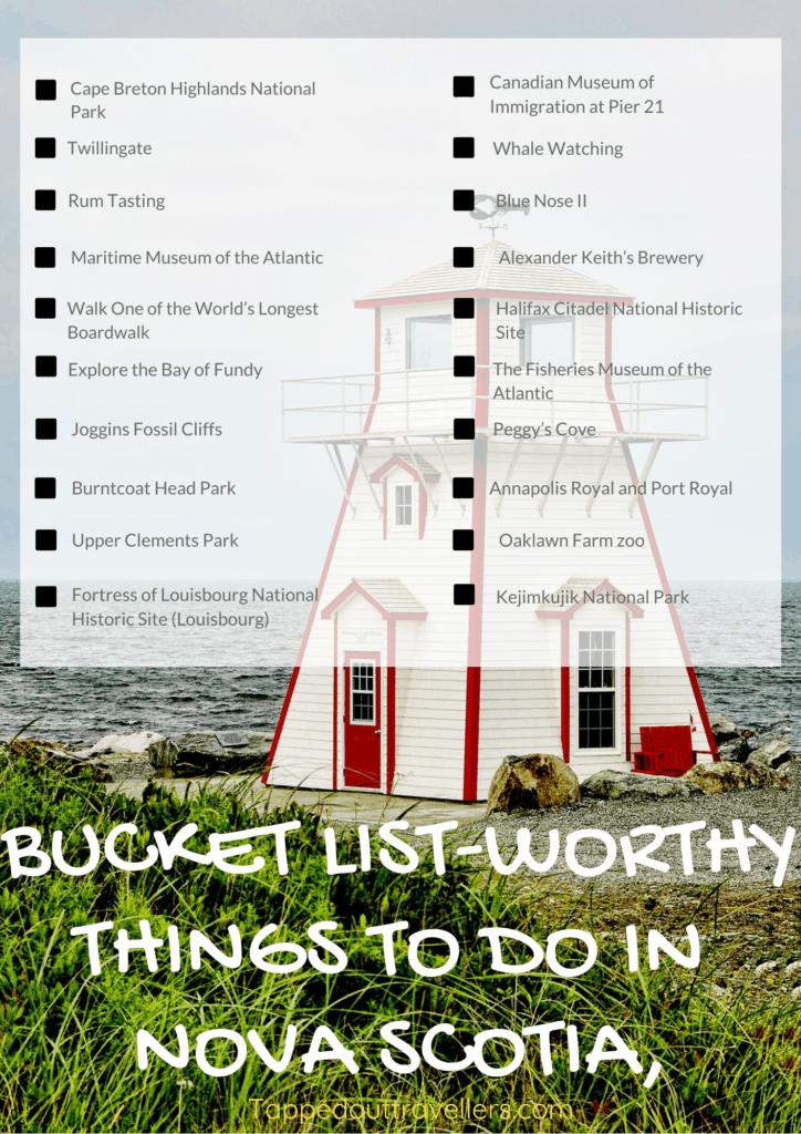 15 Bucket List-Worthy Things to Do in Nova Scotia, Canada #bucketlist #canada #novascotia #travel
