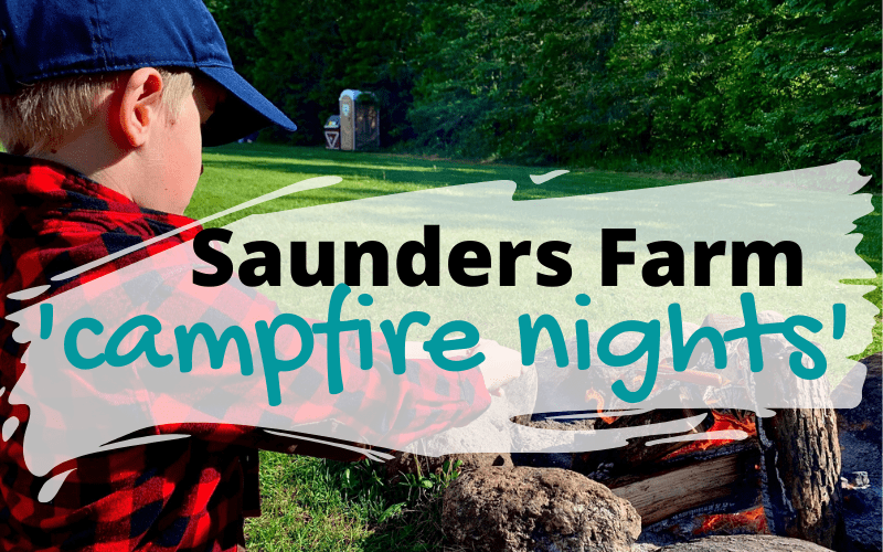 Saunders Farm offering 'campfire nights'